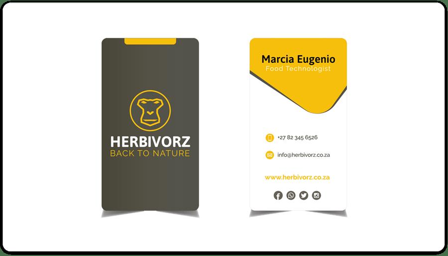 Herbivorz - Business Cards